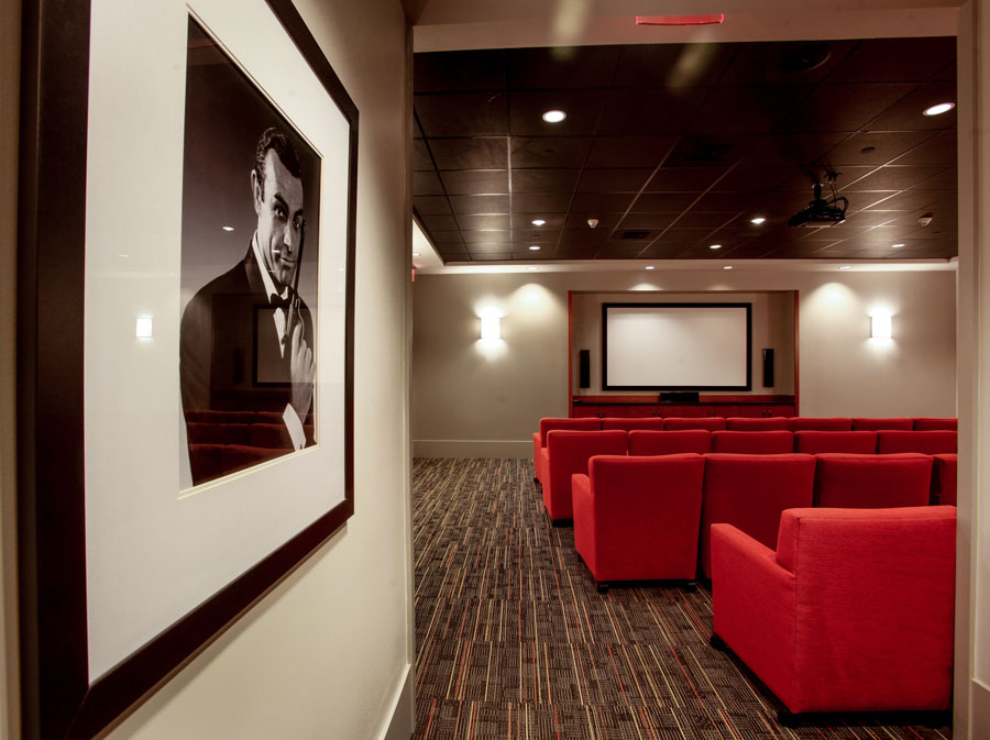 Movie Theater at Waterstone at Wellesley