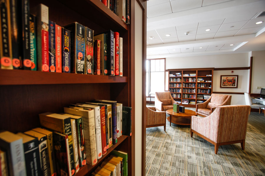 Library at Waterstone at Wellesley